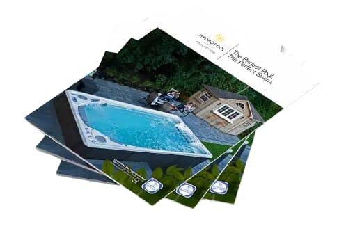 Hot tub brochure
