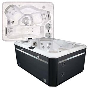 Self Cleaning 395 Hot Tub