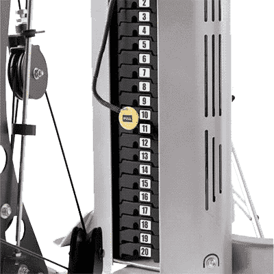 Hoist 50lb Weight Stack Upgrade