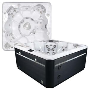 Self Cleaning 695 Hot Tub
