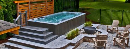 hot tub decoration